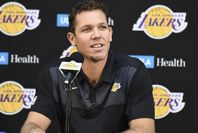 Lakers Rumors: Jeanie Buss Wants To Give Luke Walton 'Every Opportunity To Succeed'