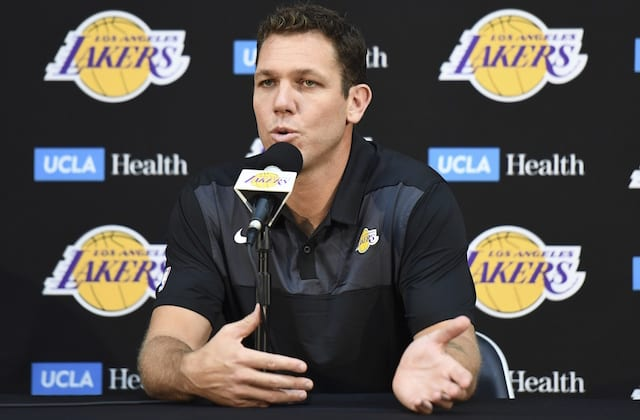 Luke Walton Believes Lakers Must Improve When Playing Small-Ball Lineups