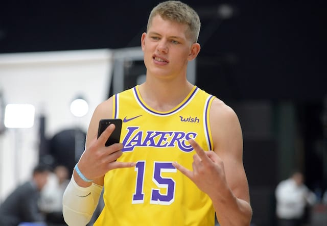 7480fc14d03f Lakers Injury Update  Moritz Wagner Cleared For Non-Contact Drills