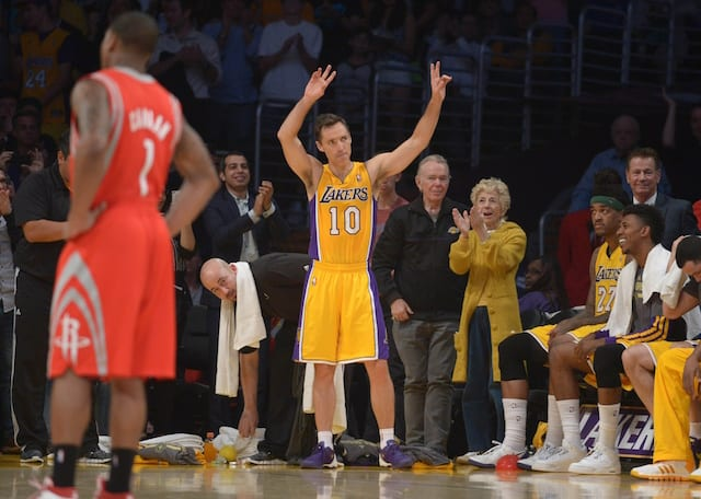 pretty nice fe925 fe7e4 Steve Nash Considers Finishing Career With Lakers Incredible
