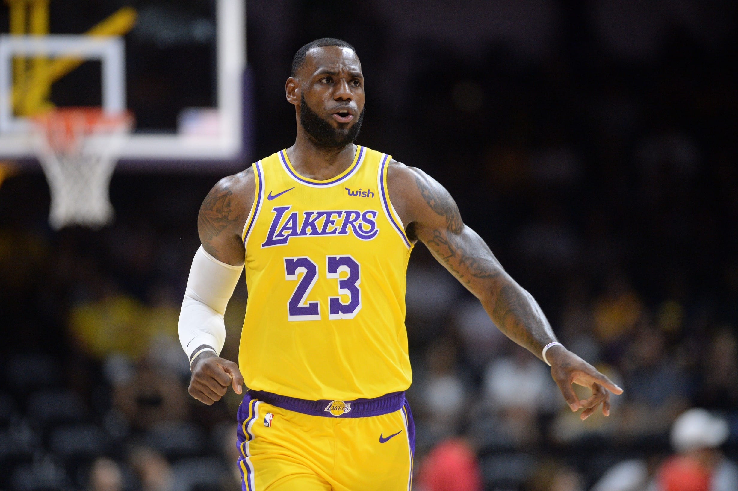 LeBron James Makes Debut, But Lakers Fall To Nuggets In ...