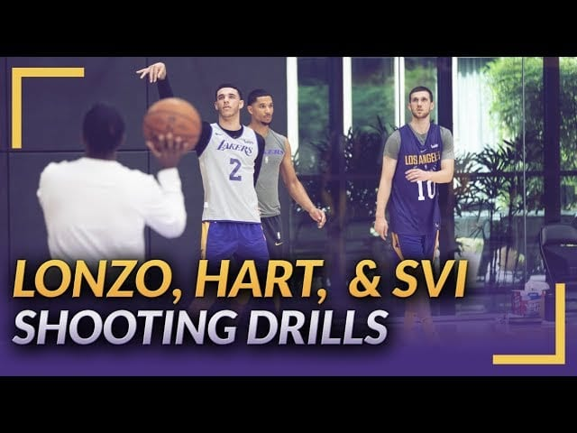 882615a77ef Lakers Training Camp Video  Lonzo Ball
