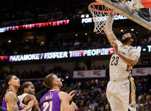 2ae70e94ec57 Lakers News Feed  Anthony Davis Rumored Tell Teams He Will Only Sign With  L.A.