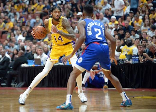 Brandon Ingram, Lakers, Clippers