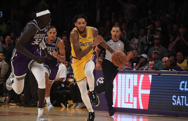 Brandon Ingram, Los Angeles Lakers