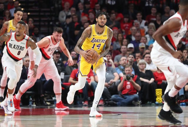 Brandon Ingram, Kyle Kuzma