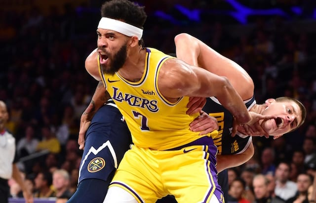 109bf1540 Three Things Learned From Lakers  Preseason Loss To Nuggets As LeBron James  Made Home Debut At Staples Center