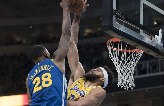 a4f09627213 Lakers News  JaVale McGee Focused On Recovering From Pneumonia To ...