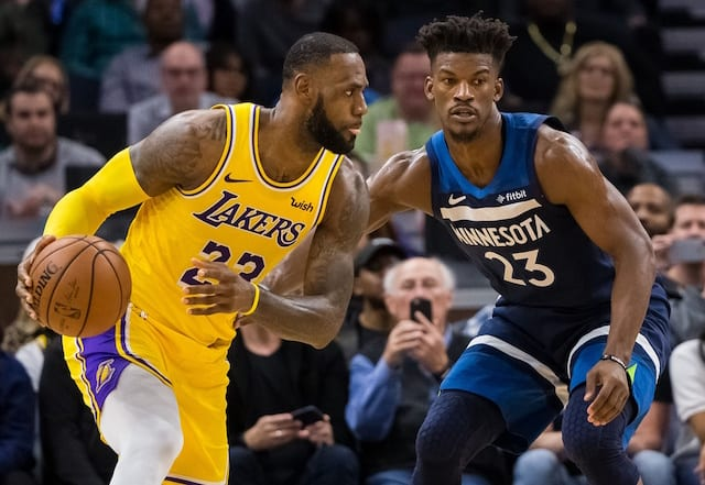 77ab2aa4f Lakers News Feed  How Jimmy Butler Trade Helps And Hurts L.A.