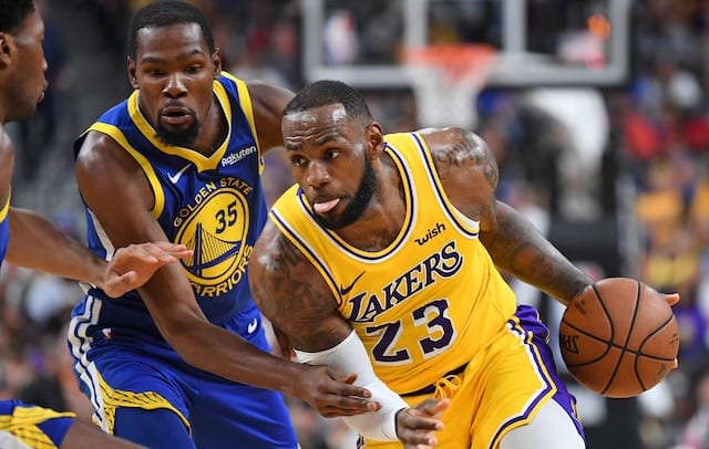 c3df7611a474 Lakers News  Kevin Durant Understands Why Star Players May Not Want To Play  With LeBron James In  Toxic  Environment. Stephen R. Sylvanie-USA TODAY  Sports