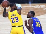 Kevin Durant, LeBron James, Lakers, Warriors