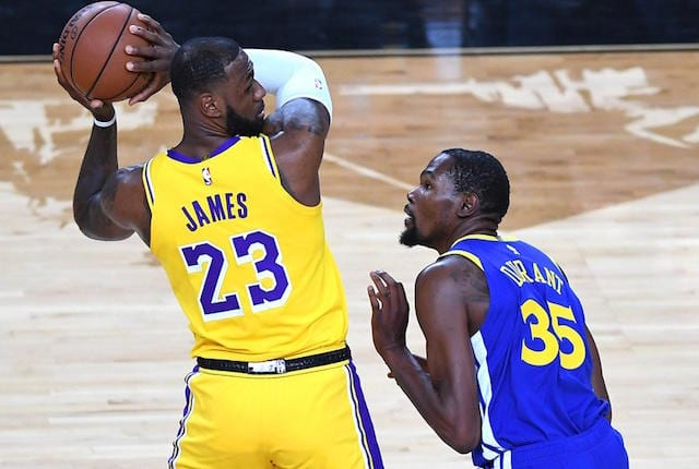 66d91336c NBA Rumors  Lakers Have  Edge  To Sign Kevin Durant In 2019 Free Agency