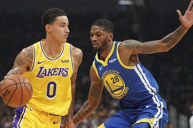 d94949ecf Lakers Vs. Warriors Highlights  Kyle Kuzma