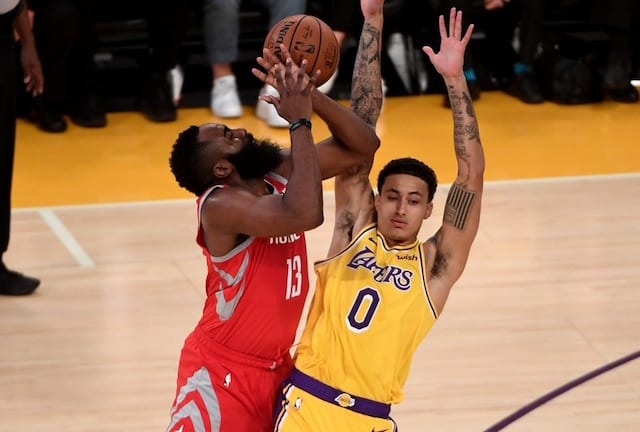 76ddb9cab823 Lakers Vs. Rockets Preview   TV Info  Not Fouling James Harden Point Of  Focus As 4-Game Road Trip Begins