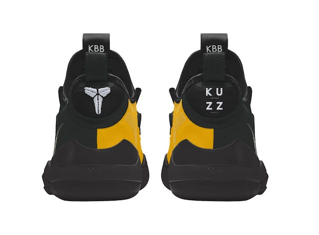 "586f78be75bdb8 Lakers News  Kyle Kuzma Designed ""Kuzz Control"" Kobe AD Through Nike iD For  NBA Opening Week"