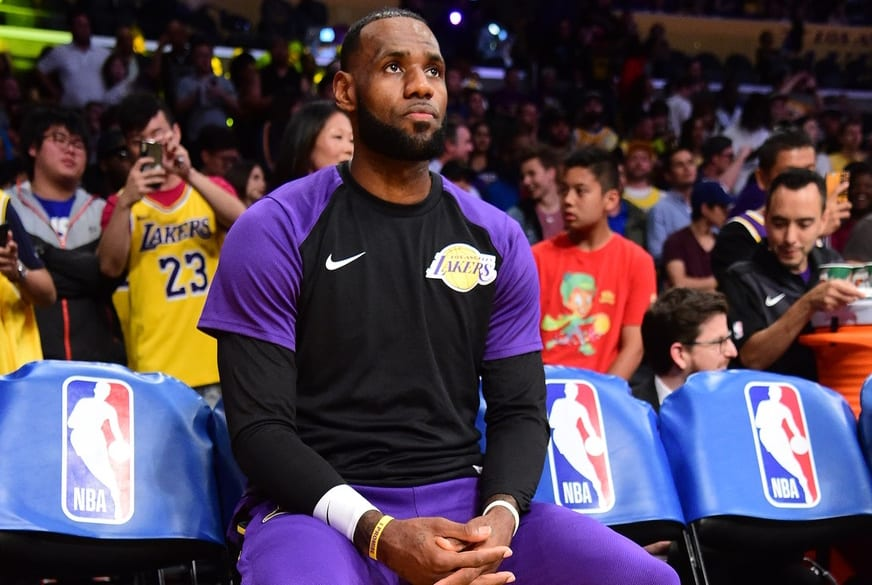 LeBron James Gave Lakers Fans A Free Taste Wednesday Night
