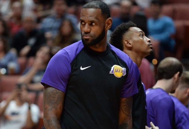 LeBron James, Lakers