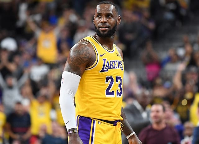 LeBron James Encouraged By First Game With Lakers