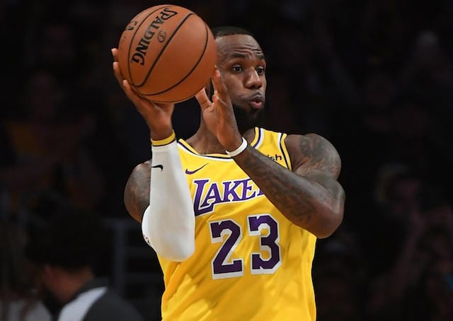 Lakers Podcast  Previewing Opening Night And Beginning Of A New Era With LeBron  James 744ca6248