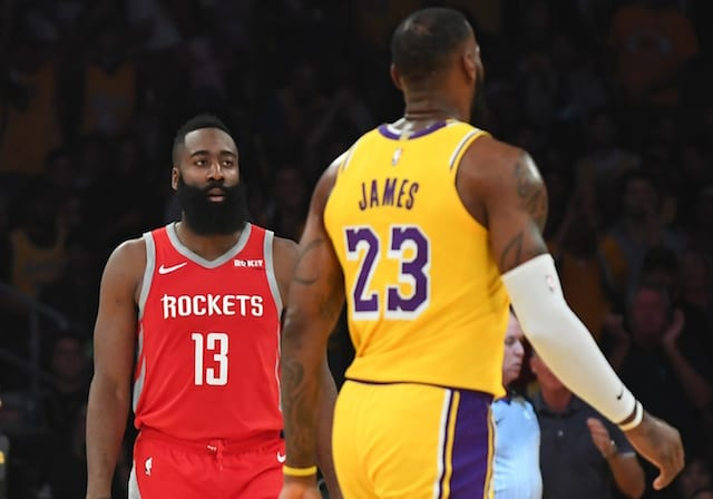 8a623caab James Harden Passes LeBron James For Most 50-Point Games By Active Player