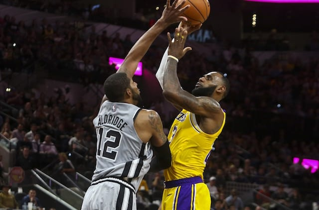 Lakers Vs. Spurs Preview   TV Info  Luke Walton Warns Of Taking ... b9e633c93660