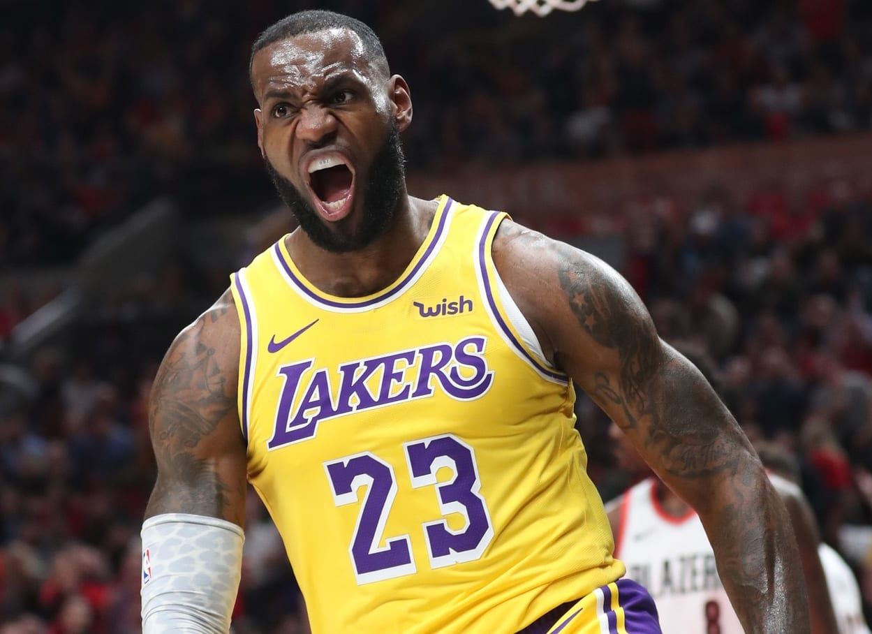finest selection ff7b4 3482c LeBron James 'Won't Stop' Until Lakers Return To ...