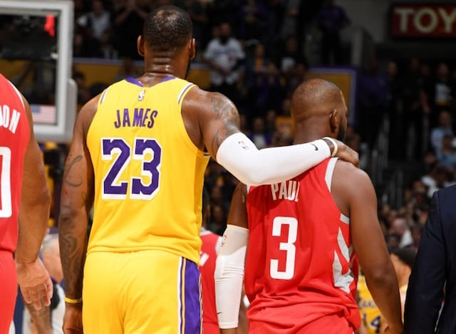 LeBron James, Chris Paul, Lakers