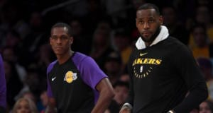 LeBron James, Rajon Rondo, Lakers