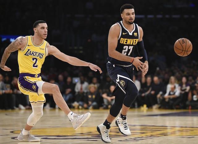 Lonzo Ball, Jamal Murray, Lakers