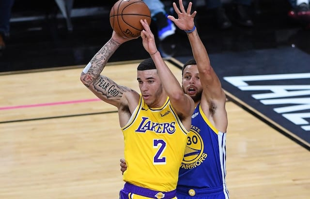 Lonzo Ball, Stephen Curry, Lakers