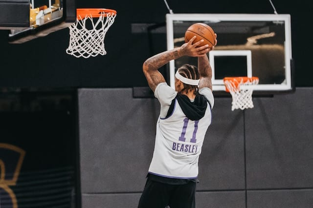28a05f8ba Michael Beasley Brings  Energy Boost  In Re-Joining Lakers