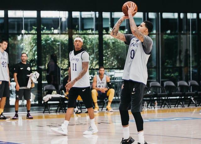 Michael Beasley, Kyle Kuzma, Lakers