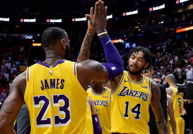 Brandon Ingram, LeBron James, Lakers