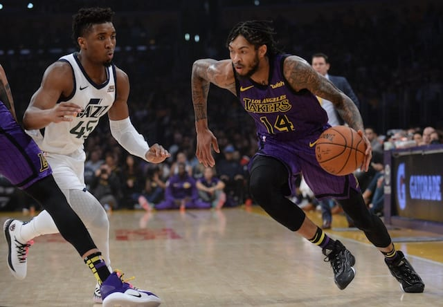 Brandon Ingram, Luke Walton
