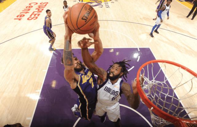 JaVale McGee, Los Angeles Lakers