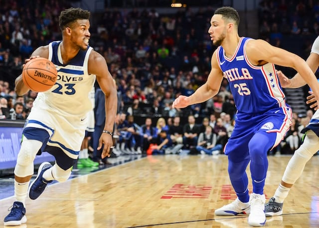 4fff41c3193d NBA Rumors  Timberwolves Trade Jimmy Butler To 76ers