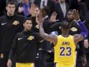 Josh Hart, LeBron James, Lakers