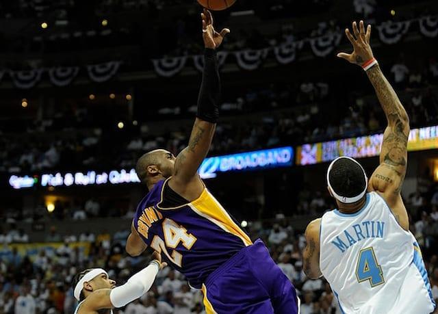 Kobe Bryant, Allen Iverson, Lakers