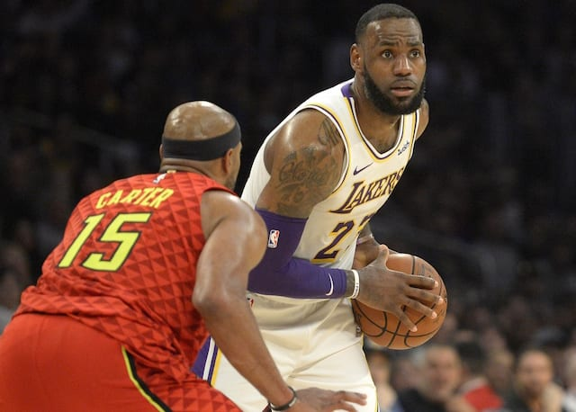 cd4e42a9368 Lakers Vs. Hawks Preview   TV Info  L.A. Looks To Head Into All-Star ...