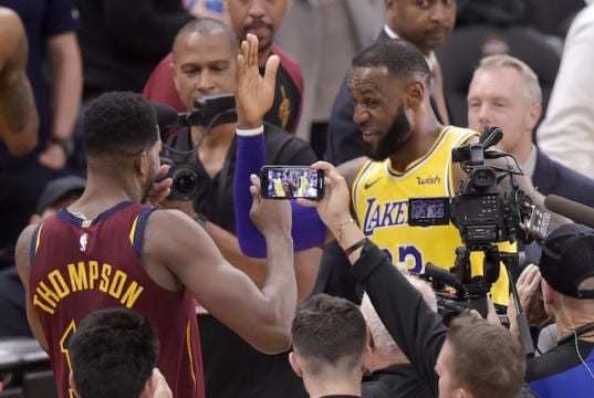 on sale 0d09f f4774 Lakers News  LeBron James Sympathizes With Former Cavaliers Teammates  Amidst 2-14 Start Without Him