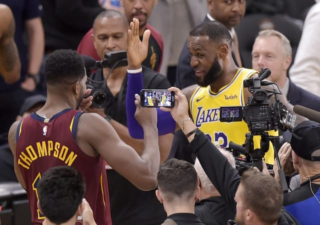 7eb54beb1fa Lakers News  LeBron James Sympathizes With Former Cavaliers Teammates  Amidst 2-14 Start Without Him