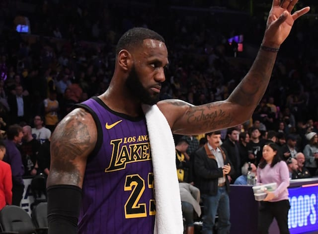 c5076d000 Lakers News  LeBron James Humbled To Pass Wilt Chamberlain
