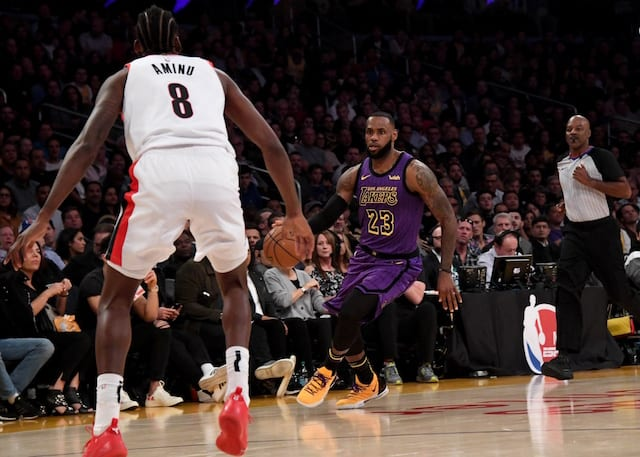 9161aee14 LeBron James Passes Lakers Legend Wilt Chamberlain For Fifth On NBA  All-Time Scoring List