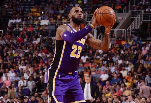 Lakers News  LeBron James b65d25381