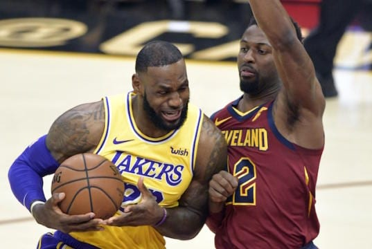 size 40 f5810 eba6b LeBron James Carries Lakers Past Cavaliers To Save Homecoming