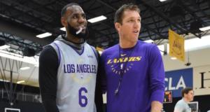 LeBron James, Luke Walton