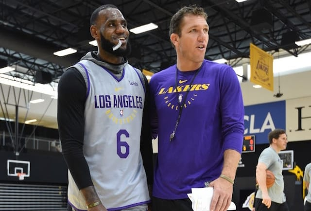 LeBron James Luke Walton
