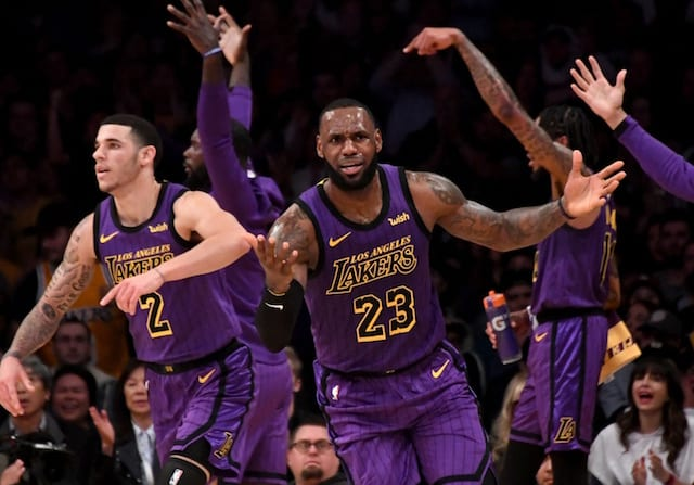 b1311621fb6 Lakers News  LeBron James Considers It  Unfair  How Much Lonzo Ball ...