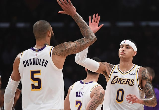 e94695ff2b7 Lakers News  Tyson Chandler Doesn t Believe He s  Seen A Player Like  Kyle  Kuzma. Robert Hanashiro-USA TODAY Sports