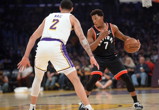 f3c85bc24 NBA Trade Rumors  Lakers Could Be Interested In Kyle Lowry If Raptors Do  Not Re-Sign Kawhi Leonard